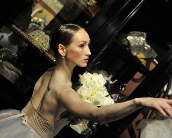 Балерина в музее